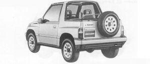 Suzuki Escudo  1990 г.