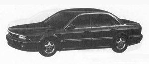 Mitsubishi Sigma 30R-S 4WD 1990 г.