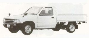 Toyota Hilux LONG BODY SUPER SINGLE DELUXE 1990 г.