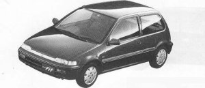 Honda City FIT CE 1990 г.