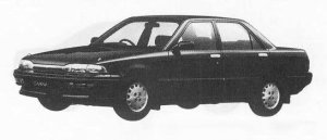 Toyota Carina 4DOOR SEDAN 1800SE EXTRA 1990 г.