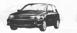 Toyota Starlet GT 1990 г.
