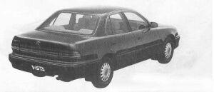 Toyota Vista SEDAN FULL TIME 4WD 1990 г.