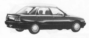 Daihatsu Applause 16Si 1990 г.