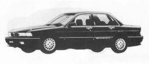 Mitsubishi Galant 2.0DOHC MX-4 1990 г.