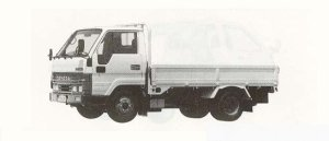 Toyota Dyna STANDARD 2T DIESEL 1990 г.