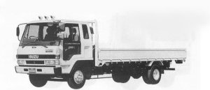 Isuzu Forward 210PS INTERCOOLER TURBO 5.5T 1990 г.
