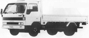 Mazda Titan 4T WIDE CABIN LONG BODY 4000cc 1990 г.