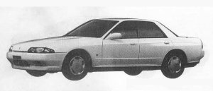 Nissan Skyline 4DOOR SPORT SEDAN GTE 1990 г.