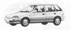 Suzuki Cultus 5DOOR ELENY 1000 1990 г.