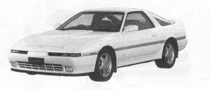 Toyota Supra AEROTOP 2.5GT TWIN TURBO 1990 г.