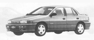 Isuzu Gemini SEDAN R 1990 г.