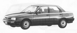 Daihatsu Applause 16L 1990 г.