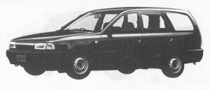 Nissan AD WAGON 4DOOR 4WD 1500LE 1990 г.