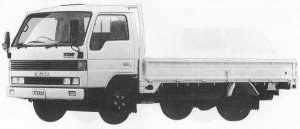 Mazda Titan 3T WIDE CABIN LONG BODY WIDE LOW 4000cc 1990 г.