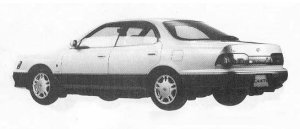 Toyota Camry Prominent 4DOOR 2000V6 G 1990 г.