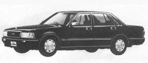 Nissan Gloria 4DOOR V20E SEDAN CLASSIC SV 1990 г.