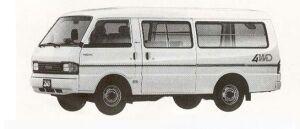 Mazda Bongo BRAWNY VAN 4WD LONG BODY 2200DE 5DOOR LG 1990 г.
