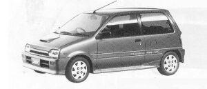 Daihatsu Mira TURBO TR-XX EFI 1990 г.