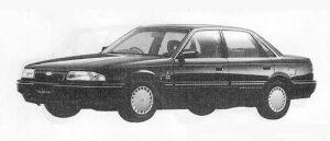 Mazda Ford Telstar SEDAN 2000P.W.S. DIESEL GHIA 1990 г.