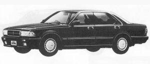 Nissan Cedric 4DOOR V20 TWIN CAM TURBO SV 1990 г.