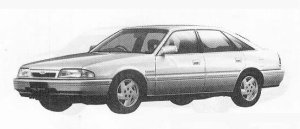 Mazda Ford Telstar TX5 2000DOHC GT 1990 г.