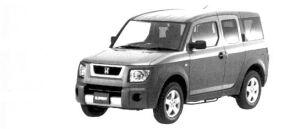 Honda Element  2004 г.