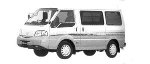 Mazda Bongo VAN Low Floor, 2WD, High Roof,2/5-seater,1800 Gasoline,4Door,GL Super 2004 г.