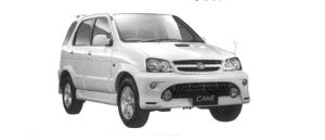 "Toyota Cami 4WD Q ""Turbo Aero Version"" 2004 г."