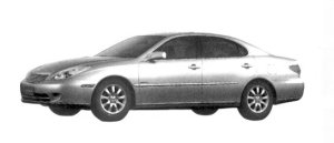 """Toyota Windom 3.0G """"Limited Edition"""" 2004 г."""