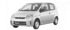 Daihatsu Mira VAN A 2WD 2004 г.