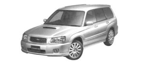 Subaru Forester CROSS SPORTS 2.0T 2004 г.