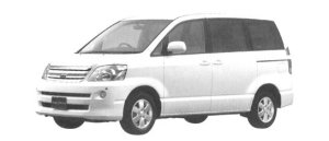 "Toyota Noah X ""G Selection"" 2004 г."