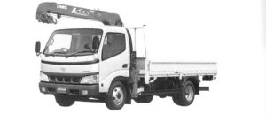 Toyota Dyna Truck with Crane 2004 г.
