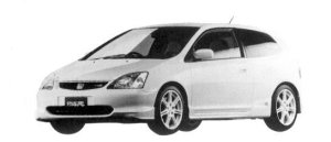 Honda Civic TYPE R 2004 г.