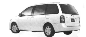 Mazda MPV G (2.3L) 7-seaters, FF 2004 г.