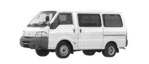 Mazda Bongo VAN Wide & Low, 2WD, Standard Roof, 3/6-seater, 1800 Gasoline, 5 Door, DX 2004 г.