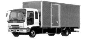 Isuzu Forward Smoother-F Dry Van, 140kW (190PS) 2004 г.