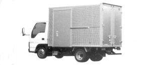 Nissan Atlas 20 Aluminum Colgate Dry Van with side door 2004 г.