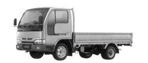 Nissan Atlas 10 2000 Super Low, Long Body, Manual Transmission, Steel Carrier 2004 г.