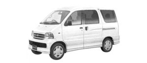 Daihatsu Atrai 7 L 2WD 2004 г.
