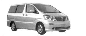 "Toyota Alphard V MZ ""G Edition"" 7-seaters 2004 г."