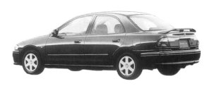 Mazda Familia SEDAN INTERPLAY X 1500 1997 г.