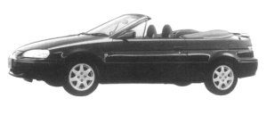 Toyota Cynos 1.5 B CONVERTIBLE 1997 г.