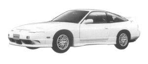 Nissan 180SX TYPE X 1997 г.