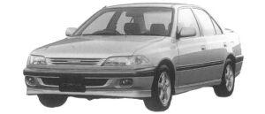 Toyota Carina SEDAN 1.6GT 1997 г.