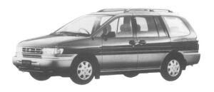 Nissan Prairie JOY 2WD 1997 г.