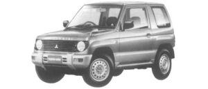 Mitsubishi Pajero Mini XR-II 2WD 1997 г.