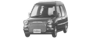 Mitsubishi Minica Toppo 1:2DOOR SELECTION 2WD 1997 г.