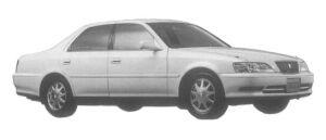 Toyota Cresta 2.0 EXCEED 1997 г.